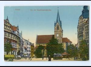 Y8074/ Erfurt An der Kaufmannskirche 1916 AK