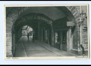 Y8073/ Alt-Erfurt Krämerbrücke 1933 AK