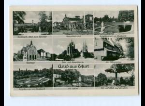 Y8072/ Gruß aus Erfurt 1944 AK