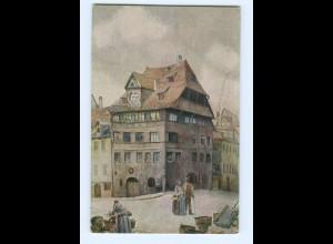 Y8316/ Geweihte Stätten - Dürer-Haus in Nürnberg AK ca.1912