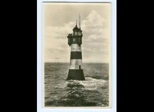 Y8326/ Rothesand Leuchtturm Foto AK 1935