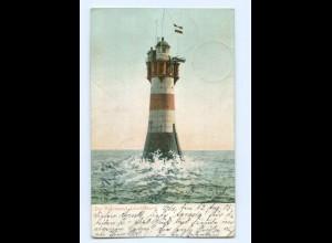 Y8327/ Rothesand Leuchtturm AK 1905