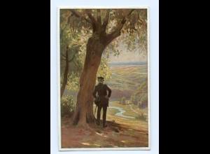 Y8341/ Paul Hey AK Volksliederkarte Nr. 28 Verein für das Deutschtum