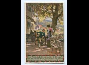 Y8340/ Paul Hey AK Volksliederkarte Nr. 40 1932