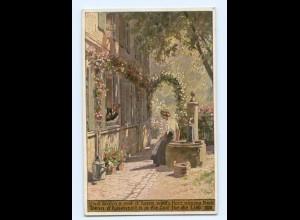 Y8339/ Paul Hey AK Volksliederkarte Nr. 48 1922