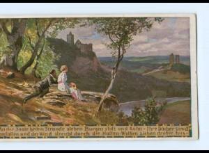 Y8342/ Paul Hey AK Volksliederkarte Nr. 44 Verein für das Deutschtum