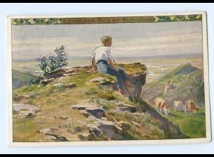 Y8336/ Paul Hey AK Volksliederkarte Nr. 56 ca.1920