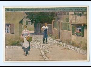 Y8335/ Paul Hey AK Volksliederkarte Nr. 55 1922