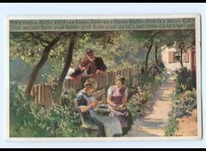 Y8333/ Paul Hey AK Volksliederkarte Nr. 66 ca.1920