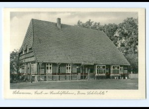 Y8358/ Schwame Kr. Grafschaft Hoya Gasthaus Zum Schlichte AK ca.1955