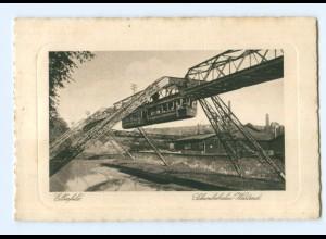 Y8360/ Elberfeld Wuppertal Schwebebahn Westend AK ca.1930