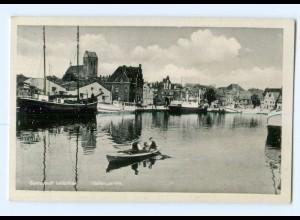 U1329-239./ Wismar Hafenpartie AK ca.1940