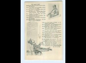 Y17321/ Stoltze-Postkarte AK Nathan guckt heraus.... Judaika ca.1910