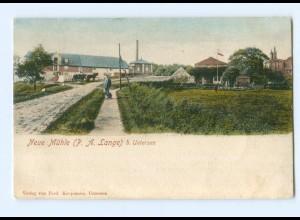 U1422/ Uetersen Neue Mühle P.A. Lange AK 1905