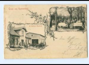 U1586-2081/ Gruß aus Kummerfeld Hatjes Gasthof AK 1903