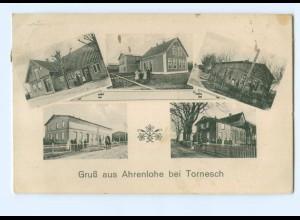 U6073-2082/ Ahrenlohe bei Tornesch AK 1913