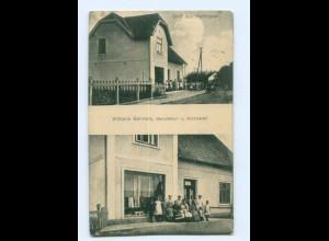 U1441-2081/ Hetlingen W. Behrens Manufaktur- u. Kurzwaren AK 1930