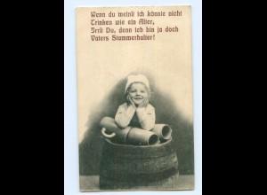 Y8719/ Bier Kleines Mädchen, Bierkrug AK 1912