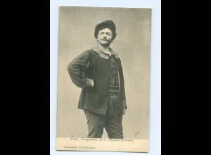 Y8734/ Emil Bergmann Schauspieler Hamburger Stadttheater AK ca.1900