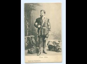 Y8735/ Franz Roha Schauspieler Hamburger Stadttheater AK ca.1900