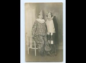 U1523/ Karneval Fasching Privat Foto AK 1929