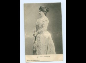 Y8839/ Schauspielerin Johanna Neumeyer Hamburger Stadttheater AK ca.1900