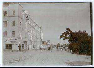 S779/ Kotka Apotek Aptekki Finnland altes Foto ca.1900 ca.17 x 12 cm