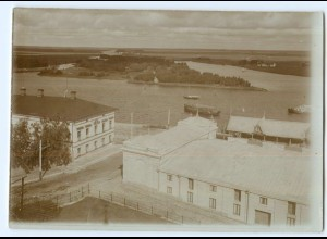 S987/ Björneburg Finnland altes Foto 1907 ca.17 x 12 cm