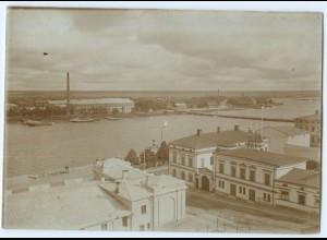 S989/ Björneburg Finnland altes Foto 1907 ca.17 x 12 cm