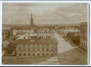 S990/ Björneburg Finnland altes Foto 1907 ca.17 x 12 cm