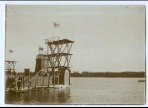S1007/ Wasa Vaasa Simmfest Finnland altes Foto 1907 ca.17 x 12 cm