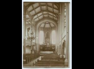 S1010/ Wasa Vaasa Kirche Finnland altes Foto 1907 ca.17 x 12 cm