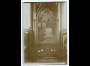 S1011/ Wasa Vaasa Kirche Finnland altes Foto 1907 ca.17 x 12 cm