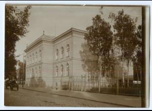 S1066/ Wasa Vaasa Realgymnasium Finnland altes Foto 1907 ca.17 x 12 cm
