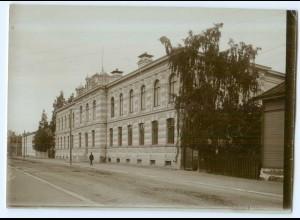 S1054/ Wasa Vaasa Finnland altes Foto 1907 ca.17 x 12 cm