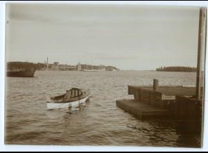 S1058/ Wasa Vaasa Finnland altes Foto 1907 ca.17 x 12 cm