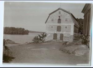 S1070/ Fagervik Finnland altes Foto 1907 ca.17 x 12 cm