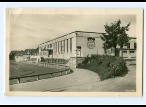 U1958-079./ Greiz Sportschule Foto AK 1956