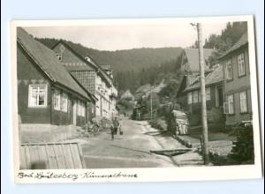 U2050-3422/ Bad Lauterberg Kummelstraße Foto AK 1954