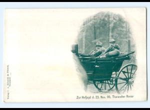 Y14469/ Hofjagd im Thrandter Revier 1899 AK Verlag: Schmidt & Pötzsch