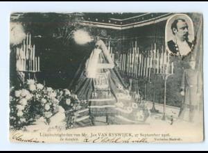 U2052/ Lijkplechtigheden van Mr. Jan van Ryswijck 1906 AK Belgien