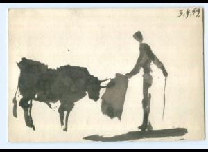 U2274/ Picasso Toros y Toreros IV AK 1964