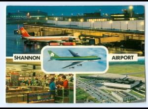 Y9025/ Flughafen Airport Shannon Irland AK Flugzeuge