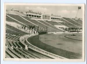 Y9010/ Leipzig Stadion der Hunderttausend Foto AK 1956