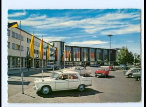 Y9037/ Heidelberg Bahnhof AK Autos 1970