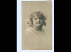 Y9067/ Hübsches Mädchen NPG Foto AK 1910