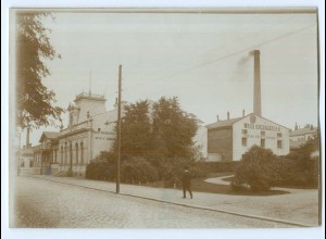 S1078/ Vaasa Wasa Angbagerie Foto ca. 17 x 12 cm 1907 Finnland