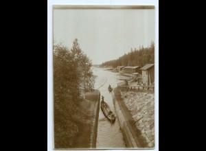 S1102/ Kajawa Foto ca. 17 x 12 cm 1907 Finnland