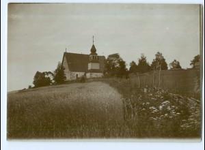 S1099/ Karis Kyrko Kirche Foto ca. 17 x 12 cm 1907 Finnland