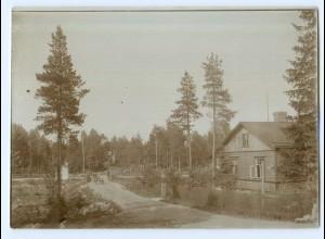 S1091/ Helsingfors Helsinki Hoplaks Foto ca. 17 x 12 cm 1907 Finnland